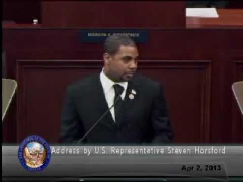 Rep. Horsford addresses Nevada Legislature, calls on lawmakers to make tough decisions