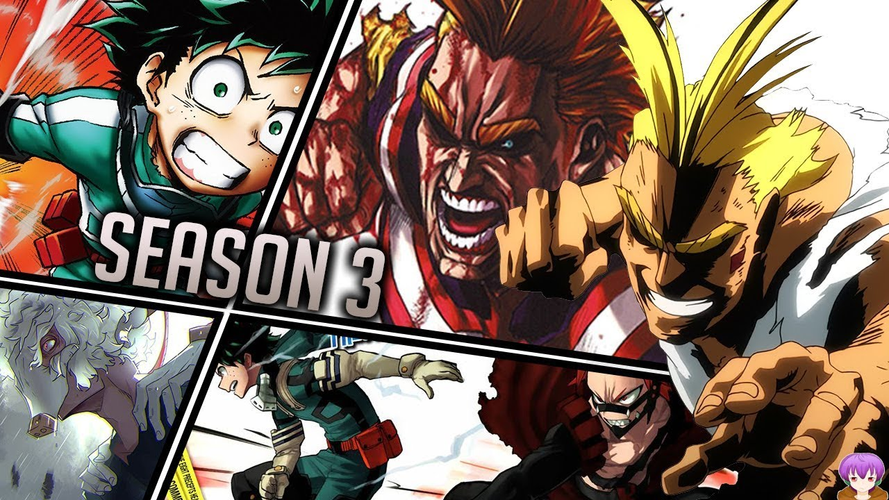 My Hero Academia Season 3  Maxresdefault