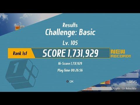 Lumines Remastered | Basic Challenge Mode | Score 1,731,929