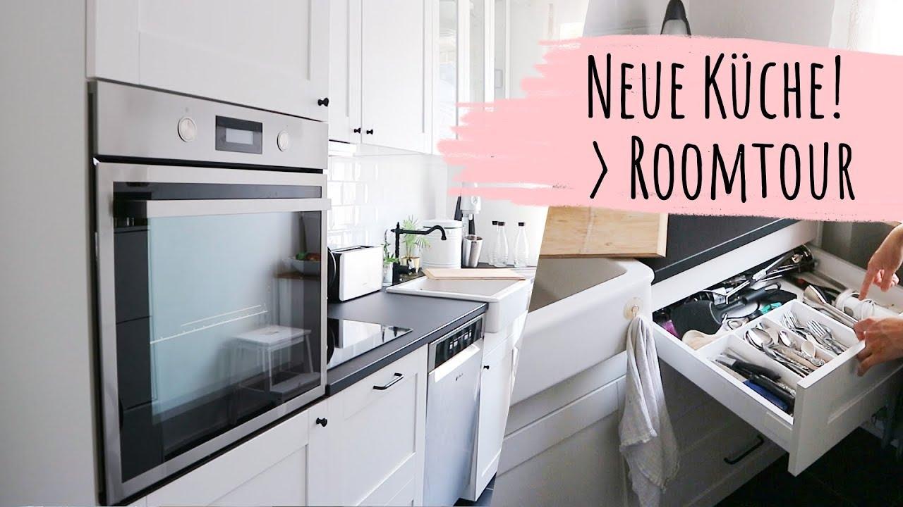Ikea Kuche In Schwarz Weiss Roomtour Deutsch 2019 Kuchentour