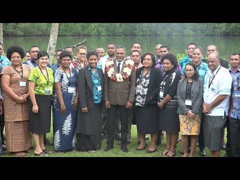 Fijian Minister for Lands officiates at Fiji Geospatial Information Management Conference