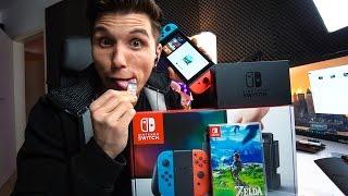 BITTE LECKT NICHT AN NINTENDO SWITCH SPIELEN! ✪ Nintendo Switch Unboxing