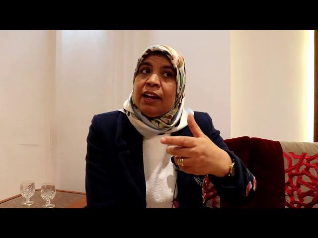النائبة مريمة بوجمعة نائبة رئيس مجلس النواب تقدم النسخة الجديدة للموقع الرسمي لمجلس النواب.