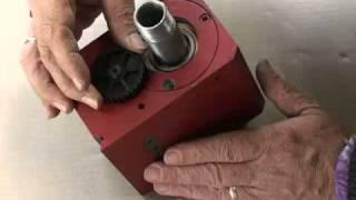 Upgrade 7X12 lathe headstock to taper bearings