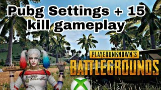 Updated pubg xboxps4 settings my best personal settings so far may 2019