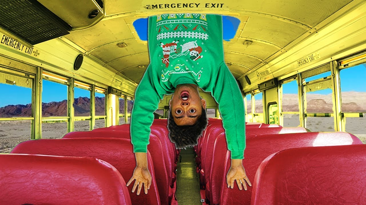 10 Things Not To Do In a School Bus...