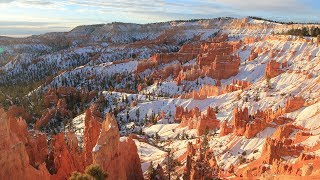 Southern Utah National Parks Winter Adventure | Sunset