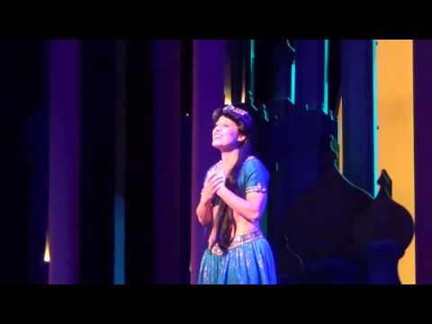 Aladdin A Musical Spectacular  Jasmine Cassandra Murphy Singing To Be Free HD