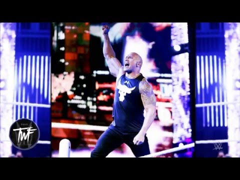 "WWE The Rock 24th Theme Song ""Electrifying"" 2016 ᴴᴰ"