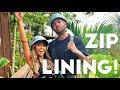 First Time Ziplining in Hawaii!
