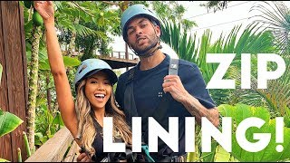 First Time Ziplining in Hawaii!