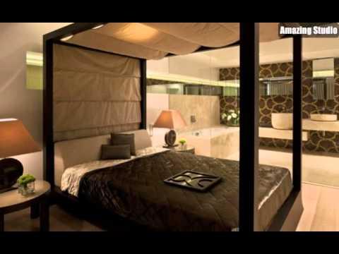 Braun Creme Schlafzimmer Bad En Suite