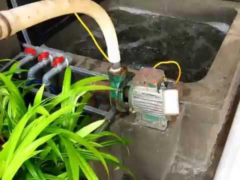 Test water pump vs Airlift pump