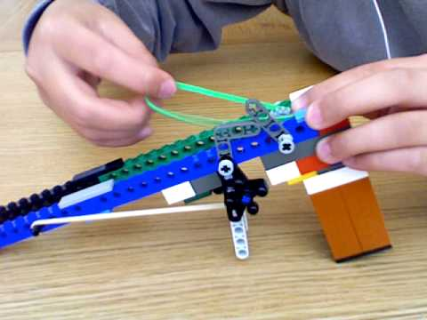 My Old Lego Rubber Band Gun - YouTube