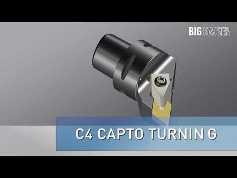 BIG CAPTO C4 Turning Tools