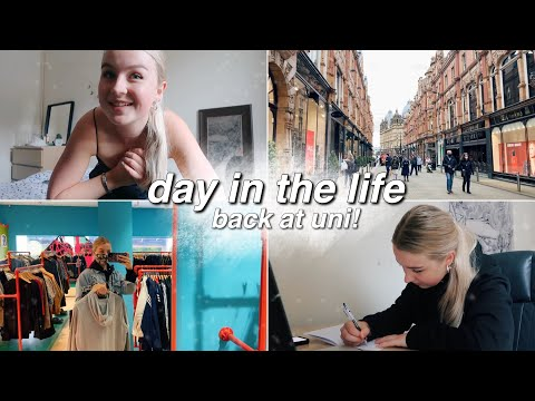 what I'm up to back in Leeds! | uni vlog