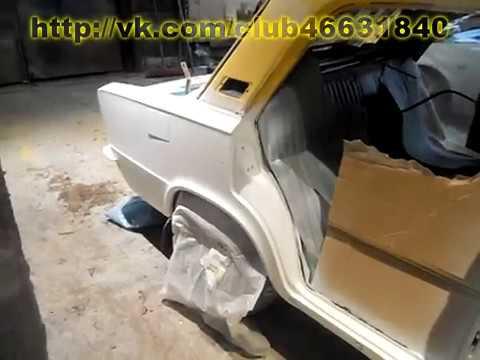 Ваз 2103. ч.2. Комплексный ремонт и покраска. Кузовной ремонт