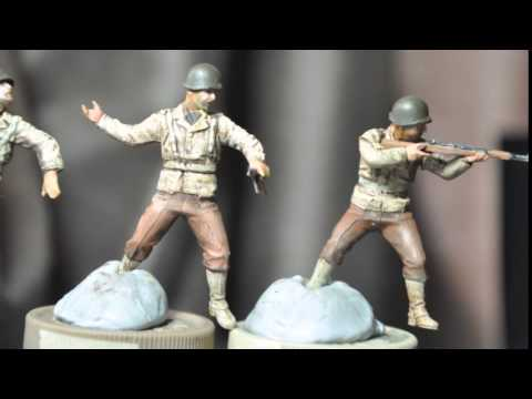 Masterbox US Infantry Paint Project