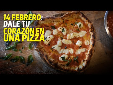 Aprende a preparar una pizza en forma de corazón