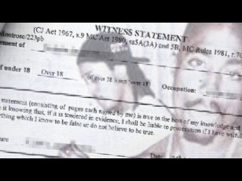 Kadafi's 1996 Statement To Vegas Police Describing Suspect Driver Of Cadillac