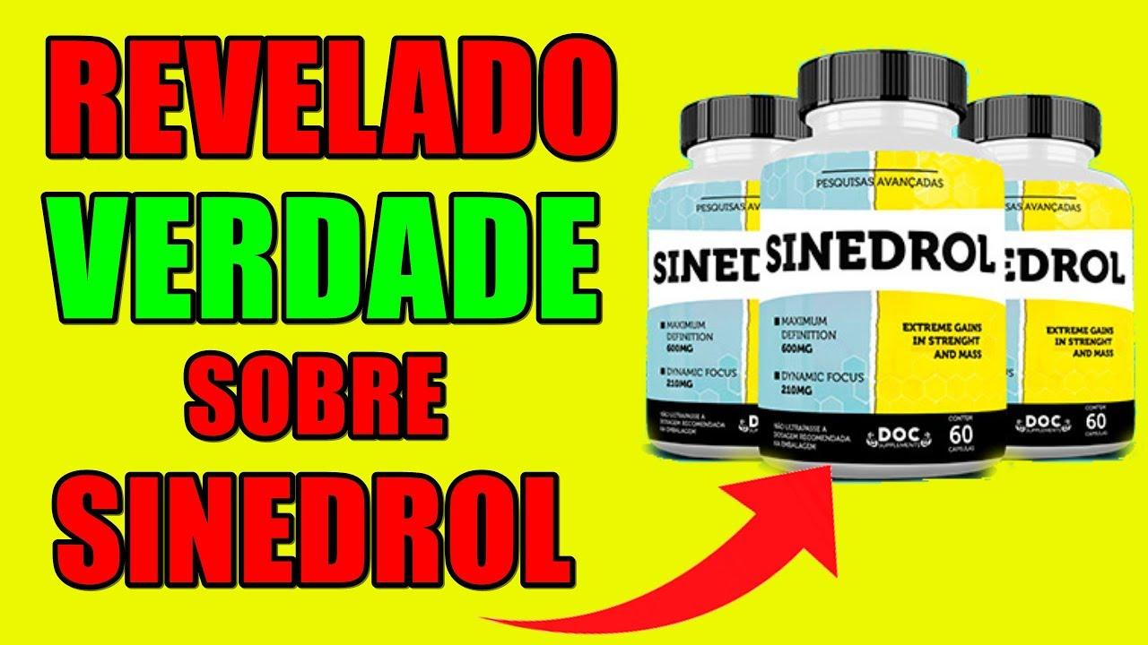 💊 sinedrol suplemento composição⏰