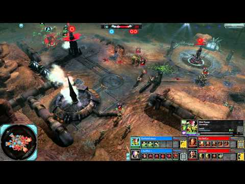Dawn of War 2: Retribution - 2v2 | TheHolyDarkness + AnoMaly [vs] Salt BadGuy + castleroad