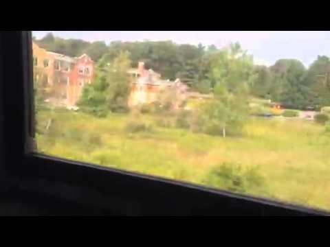 Ride train to Freeport Maine
