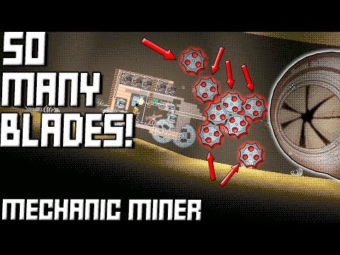 SAW BLADES EVERYWHERE! (The End of the Game) -  Mechanic Miner Gameplay Ep5
