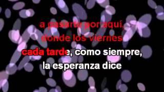 Rosas, con letra La Oreja de Van Gogh Karaoke