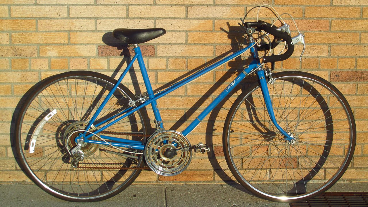 how to identify all of the parts on a vintage mixte road bike - Mixte Frame