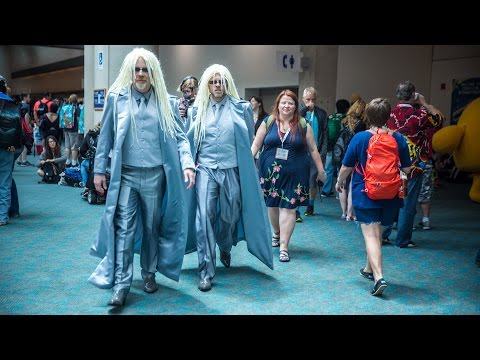 Adam Savage and Alton Brown Incognito at Comic-Con 2015!