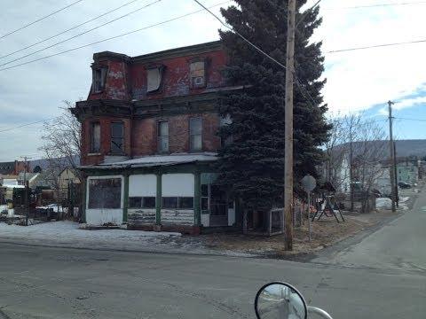 Cidade Americana de Altoona, Pennsylvania - Area abandonada - Vlog18rodas