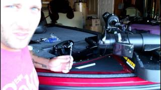 2016 Nitro Z18 Bass boat anchor cleat install