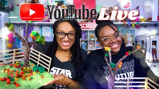 YouTube LIVE with The Froggy's | Easy Fall Craft | Q&A | Fan Mail