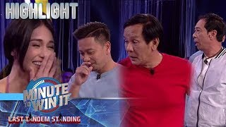 Jhong, Joey at Long, nagpagalingan ng diskarte kay Cindy | Minute To Win It
