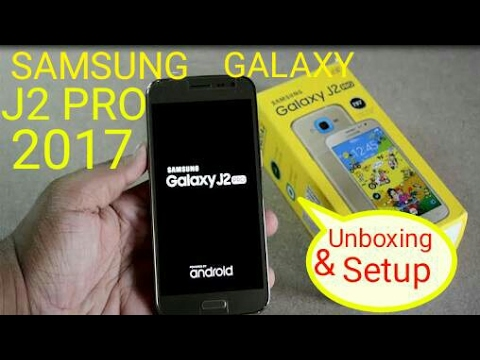 Samsung Galaxy J2 Pro 2017 Unboxing Overview