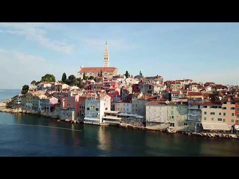 Rovinj  - magic town on the west coast of Istria - Croatia
