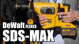 DeWalt DCH481 60V SDS-MAX Rotary Hammer at World of Concrete