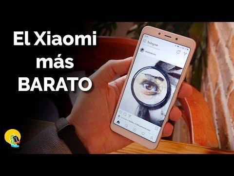 Análisis Xiaomi Redmi 6A: el Xiaomi más BARATO