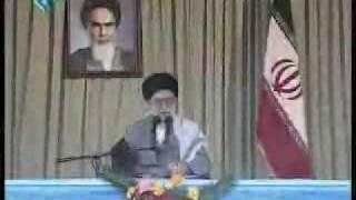 زير باران ، خيس عشق ولايت - another sign of true love for our Leader
