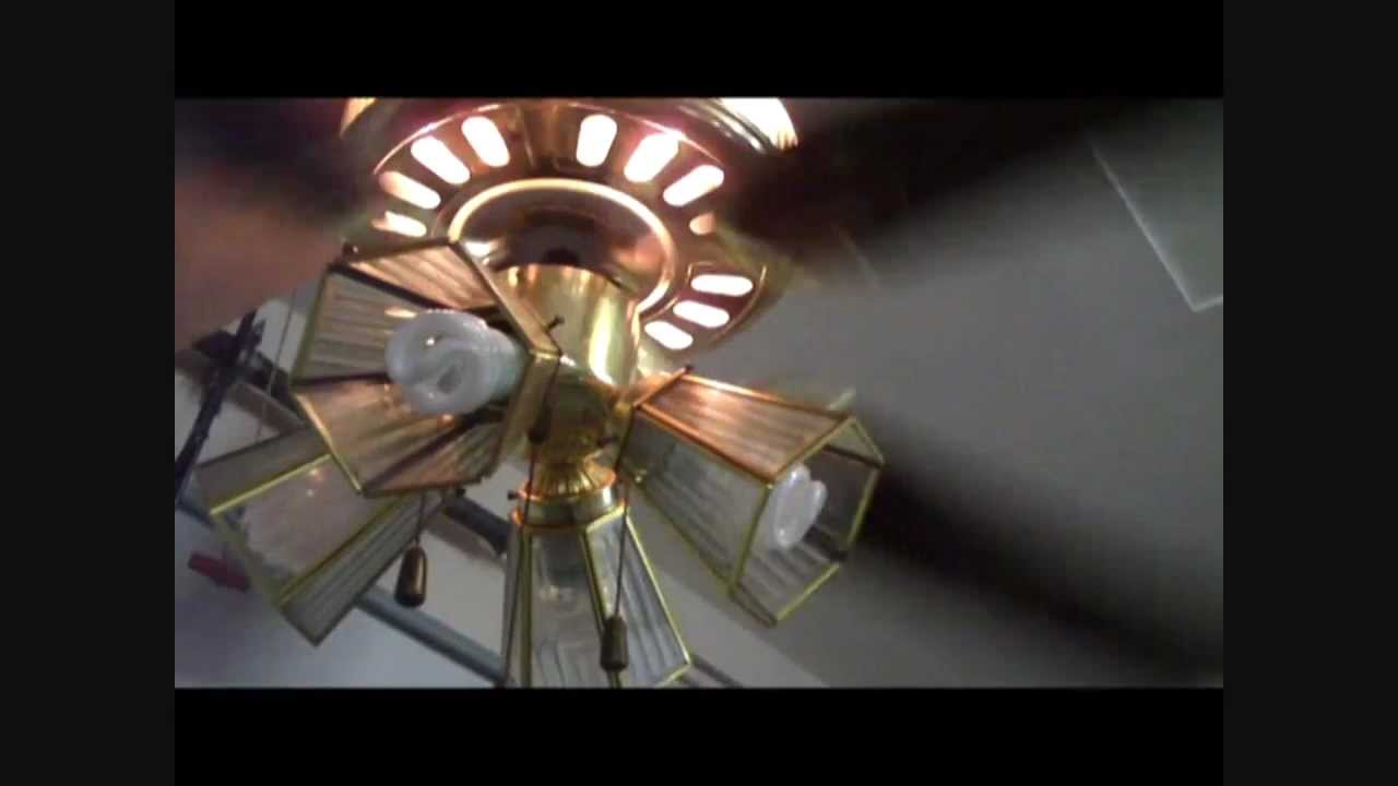 52 Quot Banvil Ceiling Fan With A Lit Motor Youtube