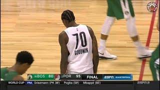 Portland Trail Blazers vs Boston Celtics - Summer League 2018 - Full Game Highlights