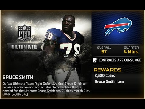 Madden NFL 15 MUT - Ultimate Bruce Smith Challenge!