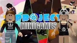 Project Minigames (roblox) ft.felina