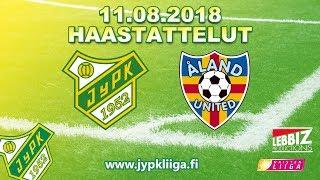 JyPK - Åland United 11.08.2018 Haastattelut!