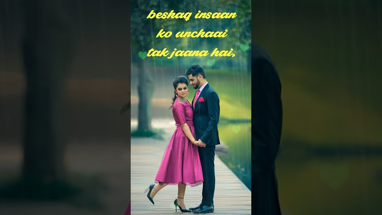 Romantic Shayari | WhatsApp Status | No Logo and Watermark