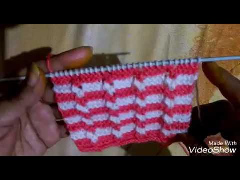 Sweater Ki Bunai In Hindi Simple And Easy Sweater Design Pattern