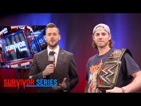 Houston Astros outfielder Josh Reddick shows off his custom WWE Title: Exclusive, Nov. 19, 2017