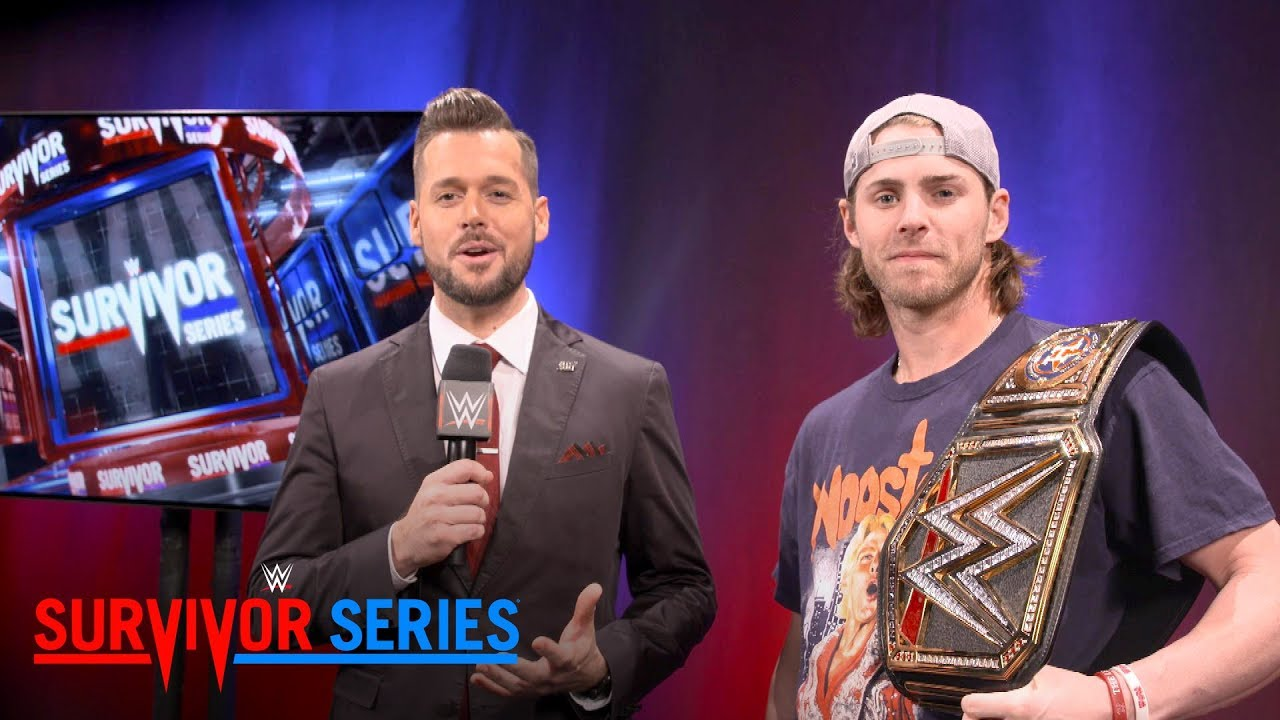 Houston Astros outfielder Josh Reddick shows off his custom WWE Title: Exclusive, Nov. 19, 2017