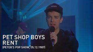 Pet Shop Boys - Rent (Peters Pop-Show, 05.12.1987)